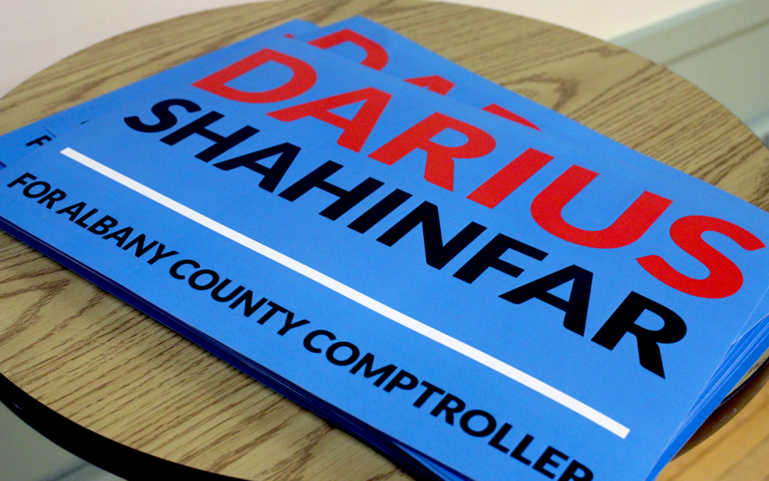 Independence Party, Working Families Party back Darius Shahinfar for County Comptroller